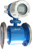 Integrated type electromagnetic flow meters